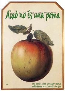 això no és una poma